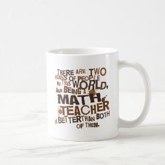 Math Teacher Gift Coffee Mug