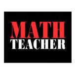 Math Teacher Gift Postcards