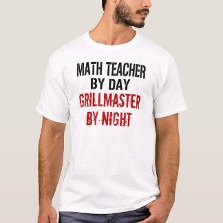 Math Teacher Grillmaster T-Shirt