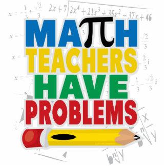 Math Teacher Have Problems Cutout