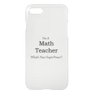 Math Teacher iPhone 8/7 Case
