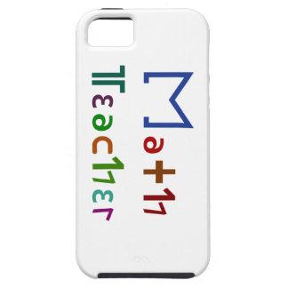 Math Teacher iPhone SE/5/5s Case
