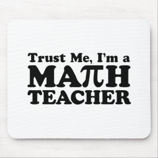 Math Teacher Mouse Pad