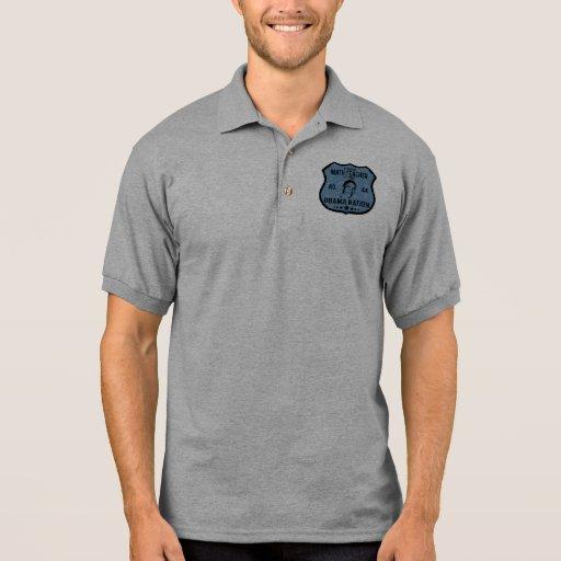 Math Teacher Obama Nation Polo Shirt