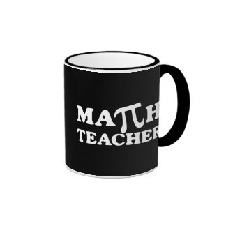 Math Teacher PI Coffee Mug