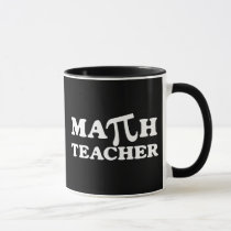 Math Teacher PI Mug