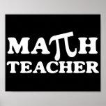 Math Teacher PI Poster