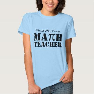 Math Teacher Shirt Trust Me Pi School Teach Gift