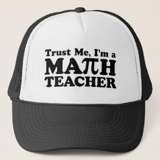 Math Teacher Trucker Hat