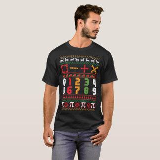 Math Teacher Ugly Christmas Sweater T-Shirt