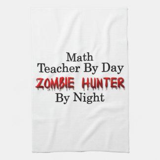 Math Teacher/Zombie Hunter Towel