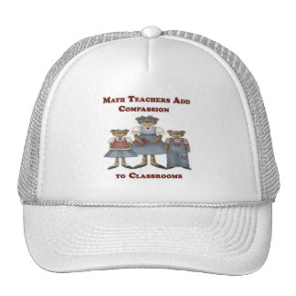 Math Teachers Add Compassion to Classrooms Trucker Hat