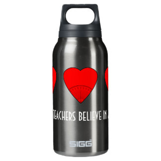 Math Teachers Believe In Angles Insulated Water Bottle