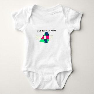 Math Teachers Rock! Baby Bodysuit