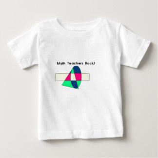 Math Teachers Rock! Baby T-Shirt