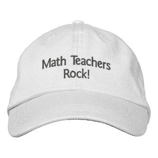 Math Teachers Rock! Baseball Cap