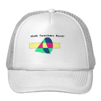 Math Teachers Rock! Hats
