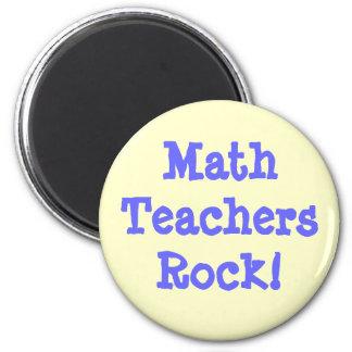 Math Teachers Rock! Magnet