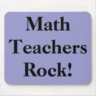 Math Teachers Rock! Mouse Pad