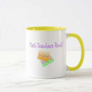 Math Teachers Rock Mug