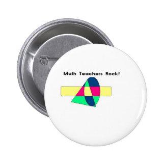 Math Teachers Rock! Pin