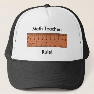 Math Teachers Rule! Hat