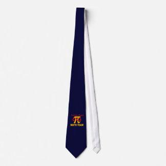 Math Team Logo Tie