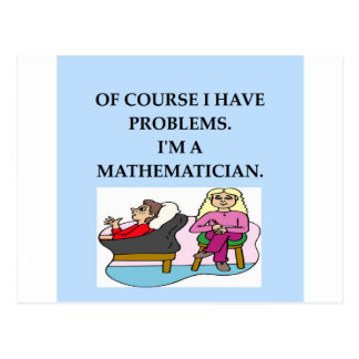 math therapy postcard