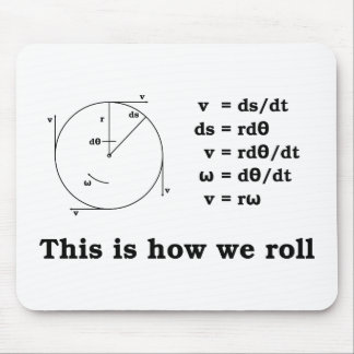 Math! This is how we roll Mouse Pads