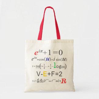 Math Tote Bag-Euler Formula