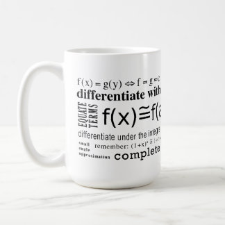Math Tricks Coffee Mug