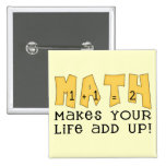 Math Tshirts and Gifts Button