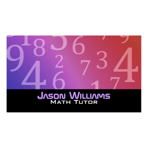 Tutor business cards page7 bizcardstudio math tutoring business cards colourmoves Choice Image