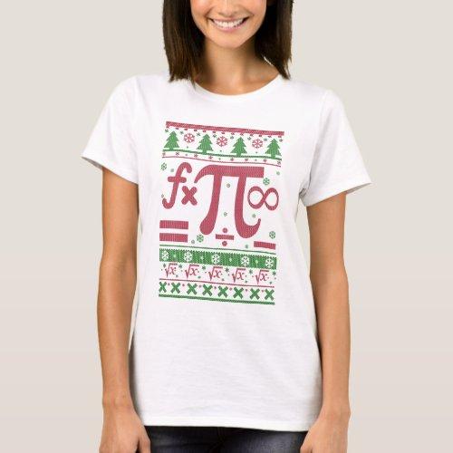 Math Ugly Christmas T-Shirt After Christmas Sales 4921