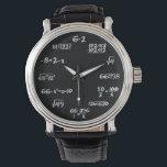 "Math Watch<br><div class=""desc"">If you love math you will love this watch.</div>"