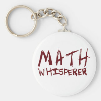 Math Whisperer Keychain