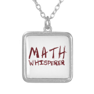 Math Whisperer Necklace