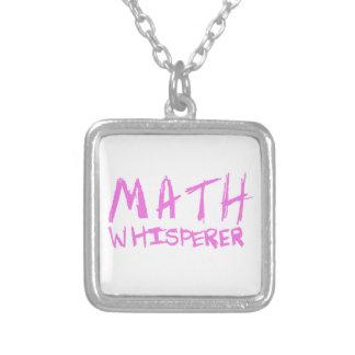 Math Whisperer Necklace