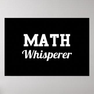 Math Whisperer Poster