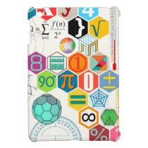 Math (white) cover for the iPad mini