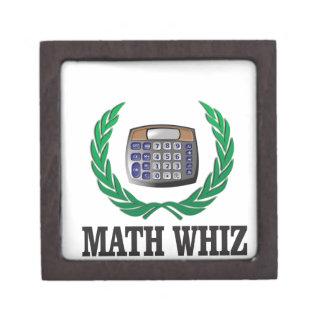 math whiz kid keepsake box