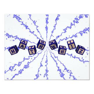 Math Whiz toy blocks in blue Card