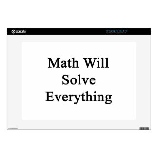 """Math Will Solve Everything Skin For 15"""" Laptop"""