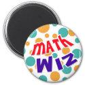 Math Wiz magnet