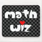 Math Wiz Mouse Pad