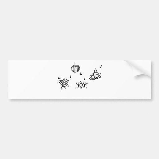 Mathberries Disco Bumper Sticker