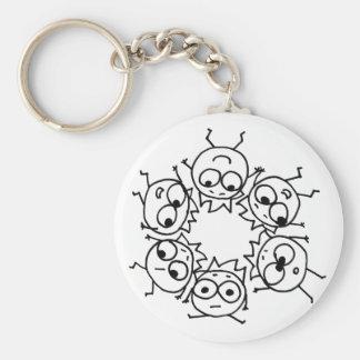 Mathberries Pow-Wow! Keychain