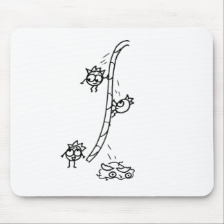 Mathberries Rope Escape Mouse Pad