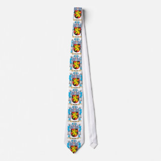 Mathe Coat of Arms - Family Crest Neck Tie