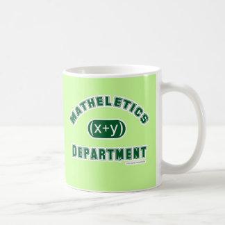 Matheletics Department Coffee Mugs